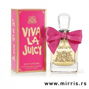 Bočica parfema Juicy Couture Viva La Juicy i originalna kutija