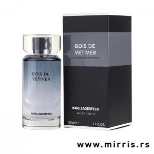 Boca originalnog parfema Karl Lagerfeld Bois De Vetiver i crna kutija