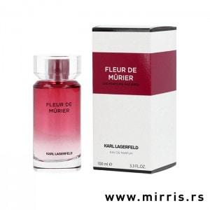 Boca parfema Karl Lagerfeld Fleur De Murier pored originalne kutije