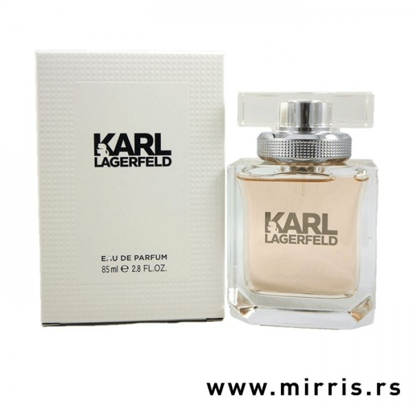 Boca parfema Karl Lagerfeld For Her i kutija bele boje
