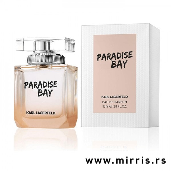 Boca parfema Karl Lagerfeld Paradise Bay i originalna kutija