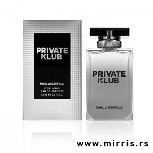 Boca parfema Karl Lagerfeld Private Klub Pour Homme i originalna kutija
