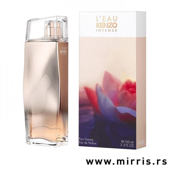 Boca parfema Kenzo L'Eau Pour Femme Intense pored originalne kutije