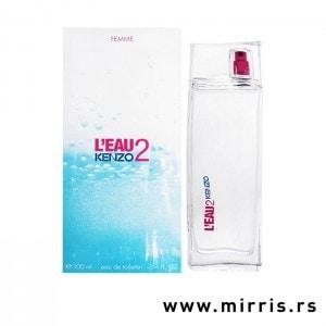 Boca parfema Kenzo L'eau 2 Pour Femme bele boje i originalna kutija
