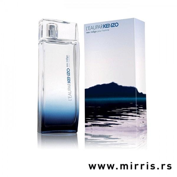 Boca parfema Kenzo L'eau Par Indigo Pour Homme pored originalne kutije