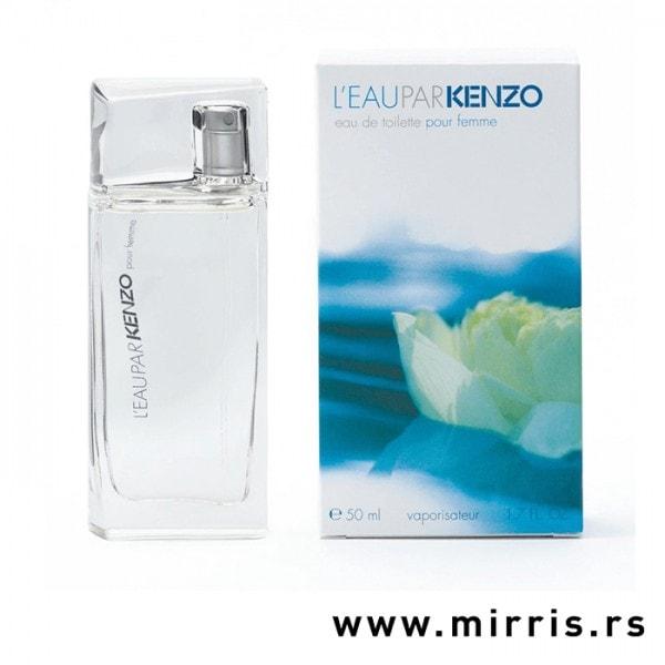 Bočica originalnog parfema Kenzo L'eau Par Kenzo i njegova kutija
