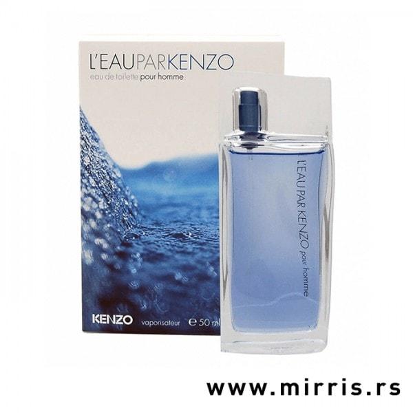 Boca parfema Kenzo L'eau Par Pour Homme pored originalne kutije