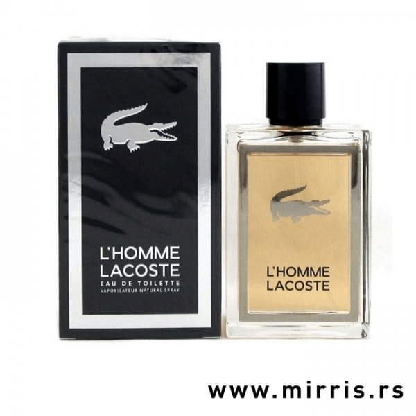 Boca parfema Lacoste L'Homme i originalna kutija