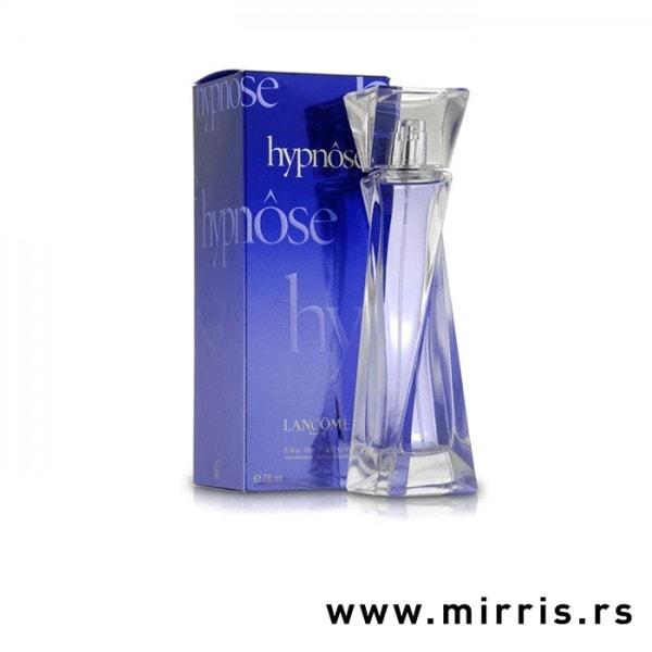 Boca parfema Lancome Hypnose pored originalne plave kutije