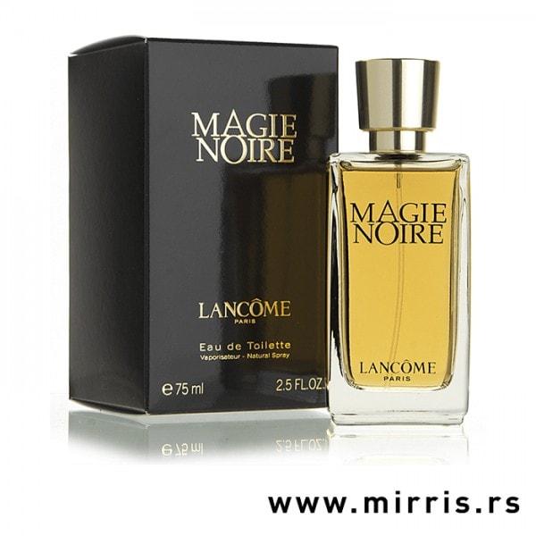 Boca originalnog parfema Lancome Magie Noire i kutija crne boje