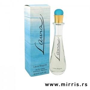 Boca parfema Laura Biagiotti Laura i njegova plava kutija
