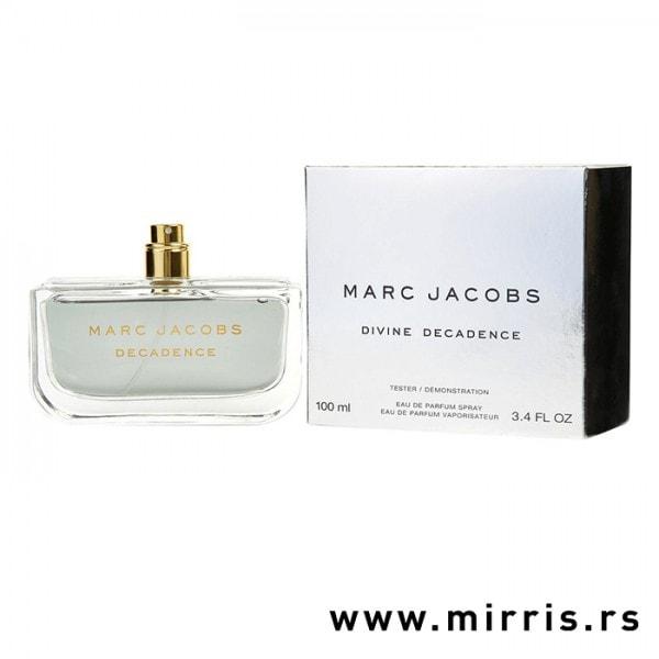 Originalna bočica testera Marc Jacobs Divine Decadence i kutija