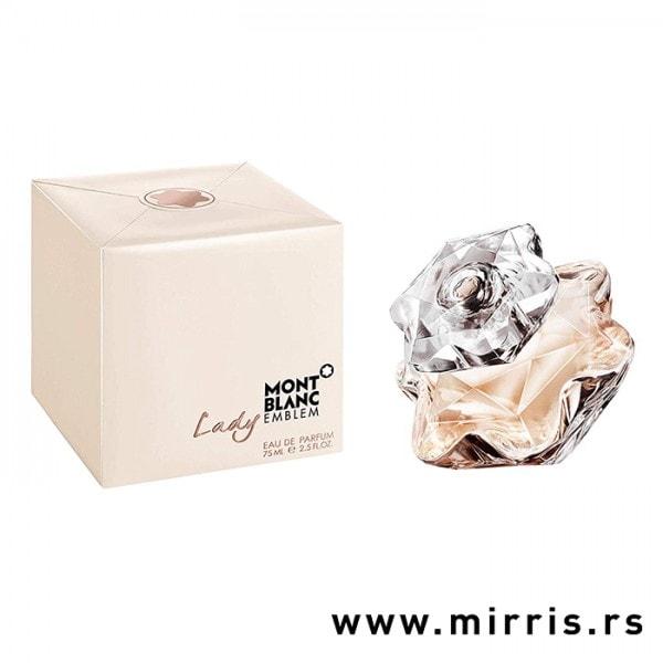 Boca parfema Montblanc Lady Emblem pored kutije