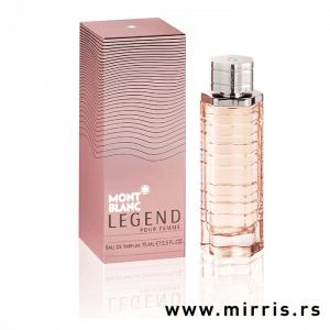 Roze kutija i boca originalnog mirisa Montblanc Legend Pour Femme