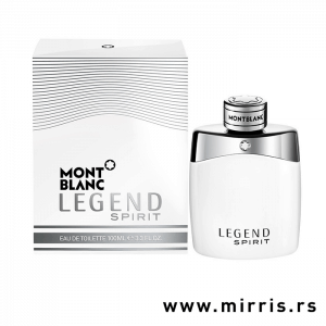 Bela bočica parfema Montblanc Legend Spirit i originalna kutija