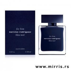 Plava kutija i boca originalnog parfema plave boje