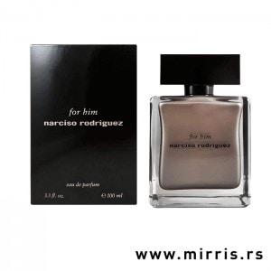 Originalna bočica parfema Narciso Rodriguez For Him i kutija crne boje