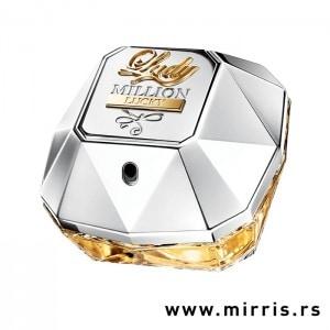 Boca testera Paco Rabanne Lady Million Lucky srebrne boje