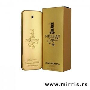 Originalna flašica mirisa Paco Rabanne One Million i kutija zlatne boje