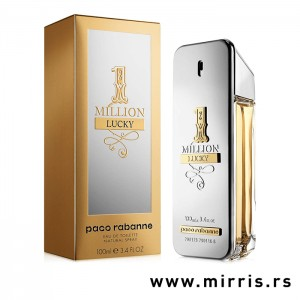 Originalna kutija i bočica parfema Paco Rabanne One Million Lucky