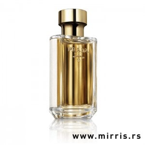Original bočica testera Prada La Femme zlatne boje
