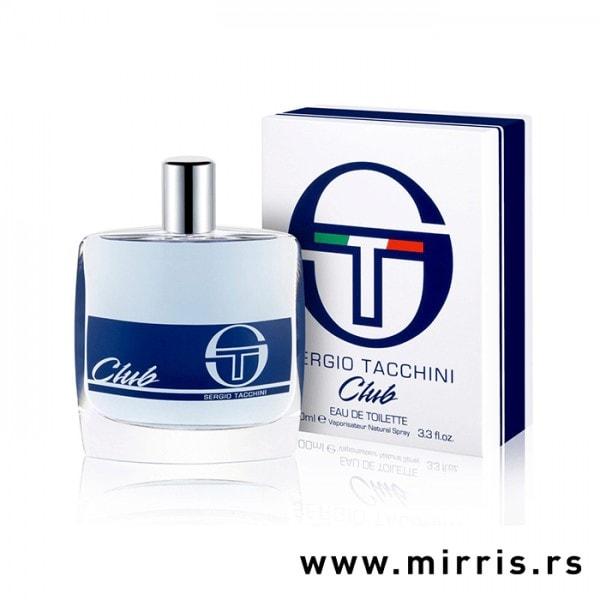 Bočica parfema Sergio Tacchini Club i originalna kutija