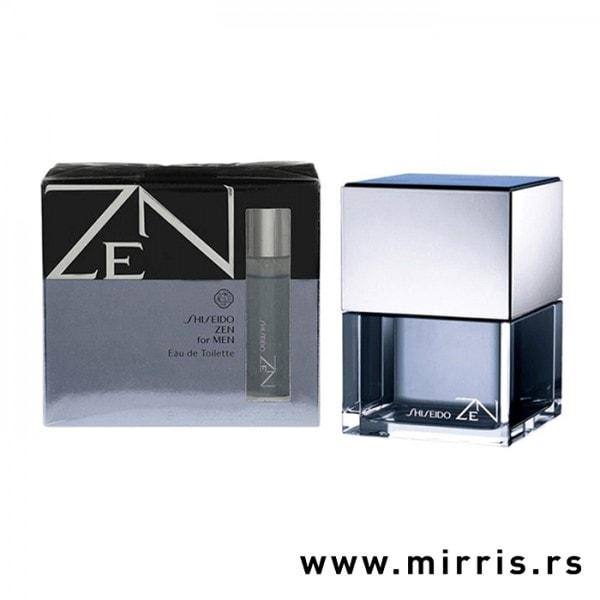 Boca parfema Shiseido Zen For Men pored originalne kutije