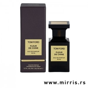 Smeđa kutija i boca parfema Tom Ford Atelier d'Orient Fleur De Chine