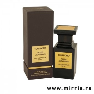 Flašica originalnog parfema Tom Ford Atelier d'Orient Plum Japonais i njegova kutija