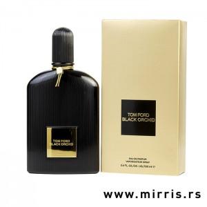 Crna boca parfema Tom Ford Black Orchid i originalna kutija