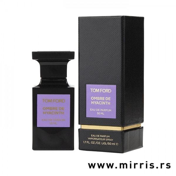 Bočica parfema Tom Ford Ombre Hyacinth i originalna kutija