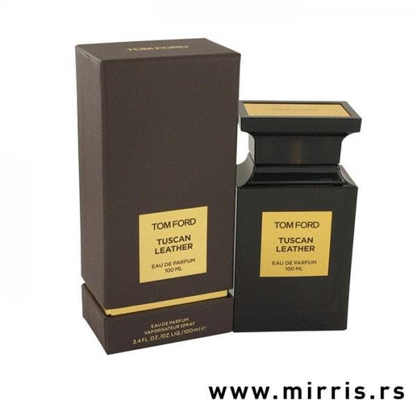 Boca parfema Tom Ford Tuscan Leather i originalna kutija