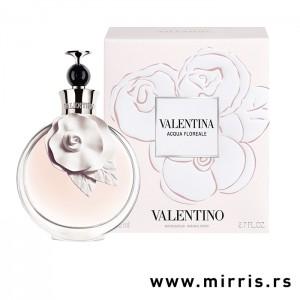 Bočica parfema Valentino Valentina Acqua Floreale pored originalne kutije