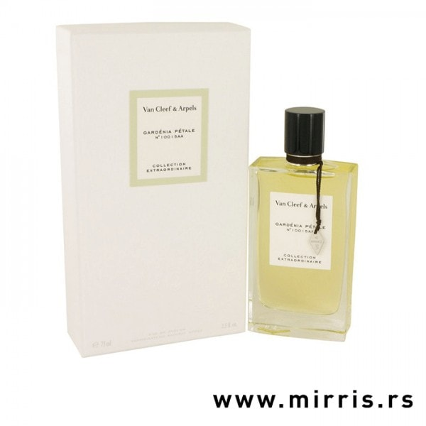 Boca parfema Van Cleef & Arpels Gardenia Petale i originalna bela kutija