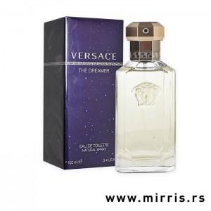 Originalna boca parfema Versace Dreamer i tamno plava kutija