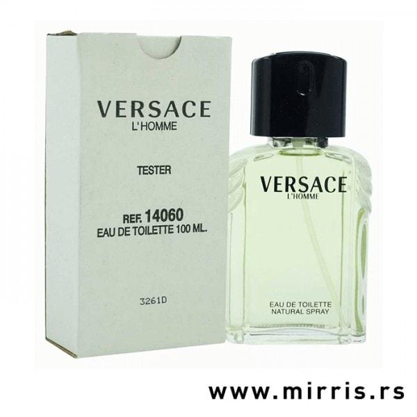 Boca testera Versace L'Homme i bela kutija