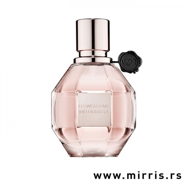 Roze bočica testera Viktor&Rolf Flowerbomb