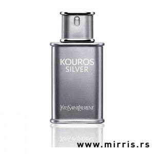 Originalna bočica testera Yves Saint Laurent Kouros Silver sive boje