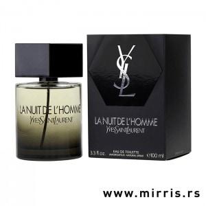 Boca parfema Yves Saint Laurent La Nuit De L'Homme pored sive kutije