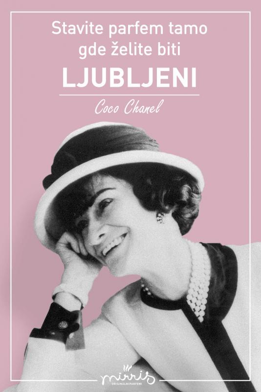 Coco Chanel portret