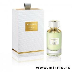 Bela kutija i bočica originalnog parfema Boucheron Neroli d'Ispahan