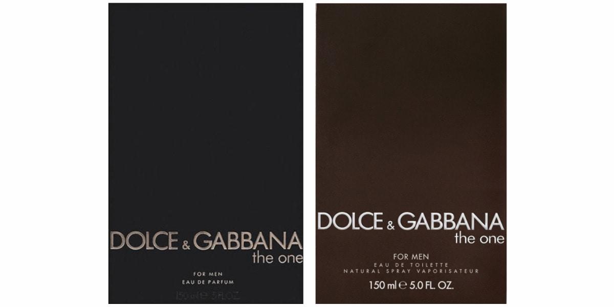 Dve kutije originalnih parfema crne boje (edp i edt)
