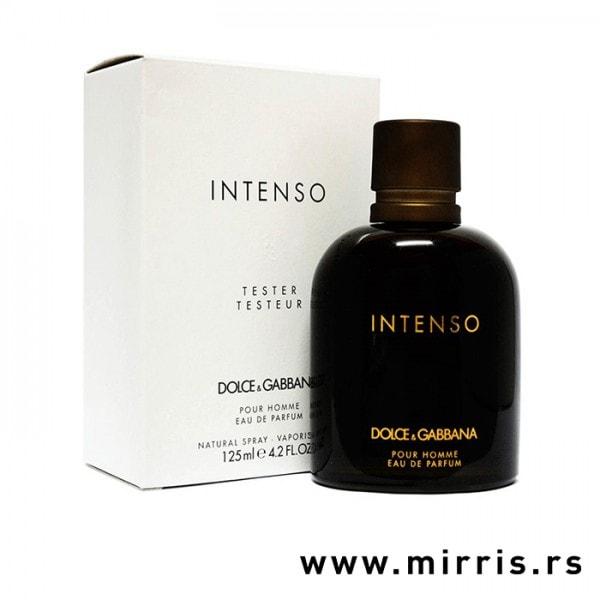 Bela kutija i boca testera Dolce & Gabbana Pour Homme Intenso