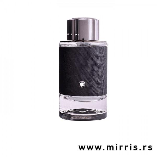 Originalna bočica testera Montblanc Explorer crne boje