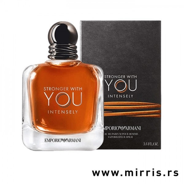 Boca parfema Giorgio Armani Stronger With You Intensely pored originalne kutije