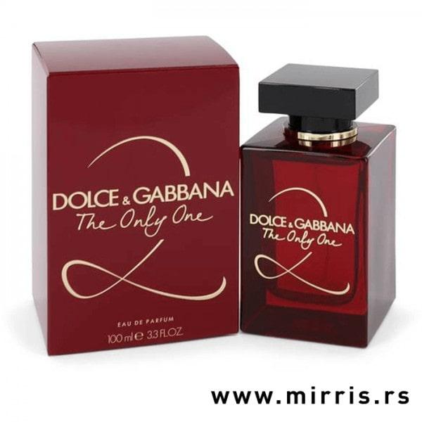 Parfem Dolce & Gabbana The Only One 2 pored crvene kutije