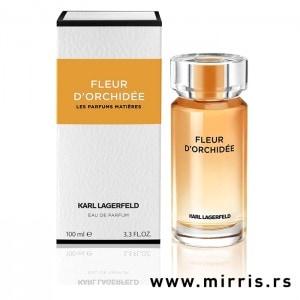 Boca parfema Karl Lagerfeld Fleur D'Orchidee pored originalne kutije