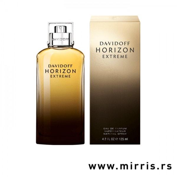 Boca parfema Davidoff Horizon Extreme pored originalne kutije