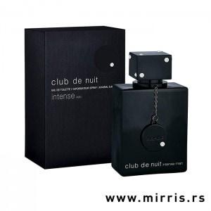 Boca parfema Armaf Club de Nuit Intense Man pored crne kutije
