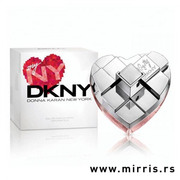 Boca parfema DKNY My NY Donna Karan pored kutije